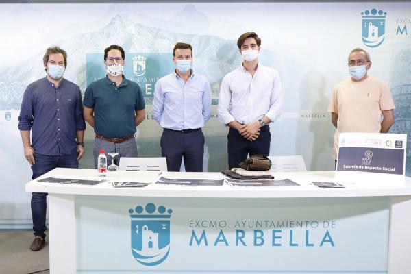 El Ayuntamiento comienza mañana una nueva edición del programa 'Marbella Social Hub' con un taller online sobre 'Estrategias de Responsabilidad Social Corporativa'