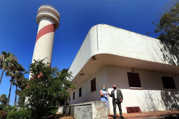 """El Ayuntamiento logra de manera oficial la cesión de las instalaciones del Faro de Marbella """"para ponerlas a disposición de los ciudadanos"""""""