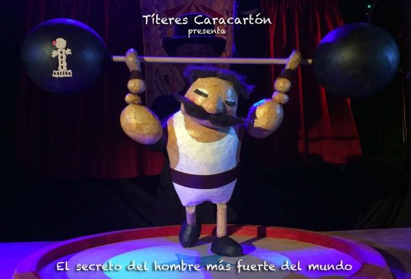 El CAE La Alcoholera de San Pedro Alcántara será el escenario este domingo del espectáculo de títeres 'El secreto del hombre más fuerte del mundo'