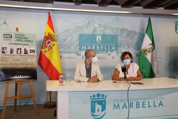 El Auditorio del Parque de la Constitución albergará del 7 al 12 de septiembre los conciertos clásicos del Festival Internacional de Música de Marbella, que retoma este ciclo de forma presencial