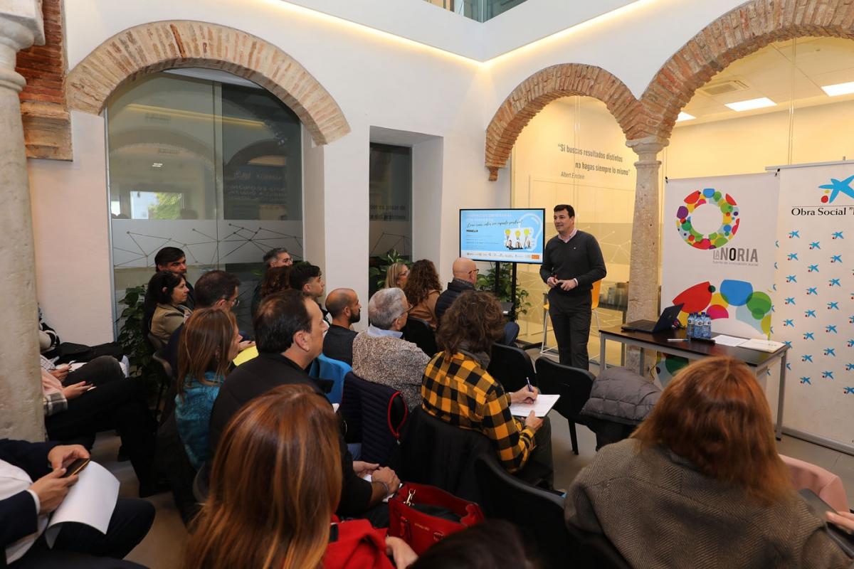 Más de una treintena de empresas participan en una jornada de innovación organizada por la Diputación de Málaga en colaboración con el Ayuntamiento