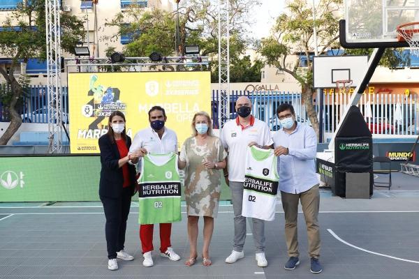 La ciudad albergará mañana viernes y el sábado el torneo Herbalife 3x3 Series Marbella Open, perteneciente a la liga profesional de baloncesto