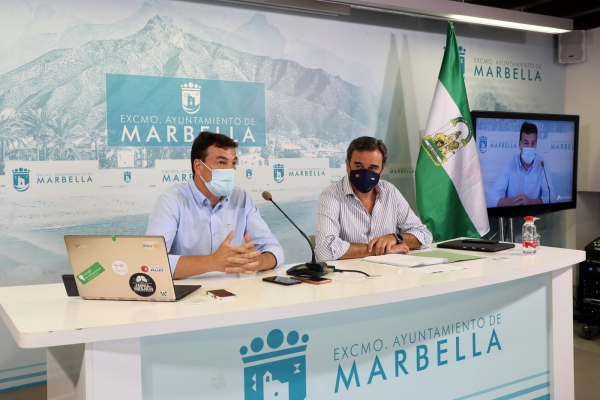 Cuatro nuevos emprendedores se instalan en el Vivero de Empresas de Marbella, que ya aloja a un total de 25 entidades