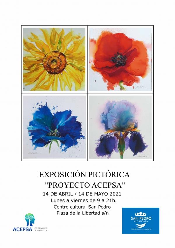 El Centro Cultural San Pedro acogerá el próximo miércoles la inauguración de la exposición pictórica 'Proyecto Acepsa'