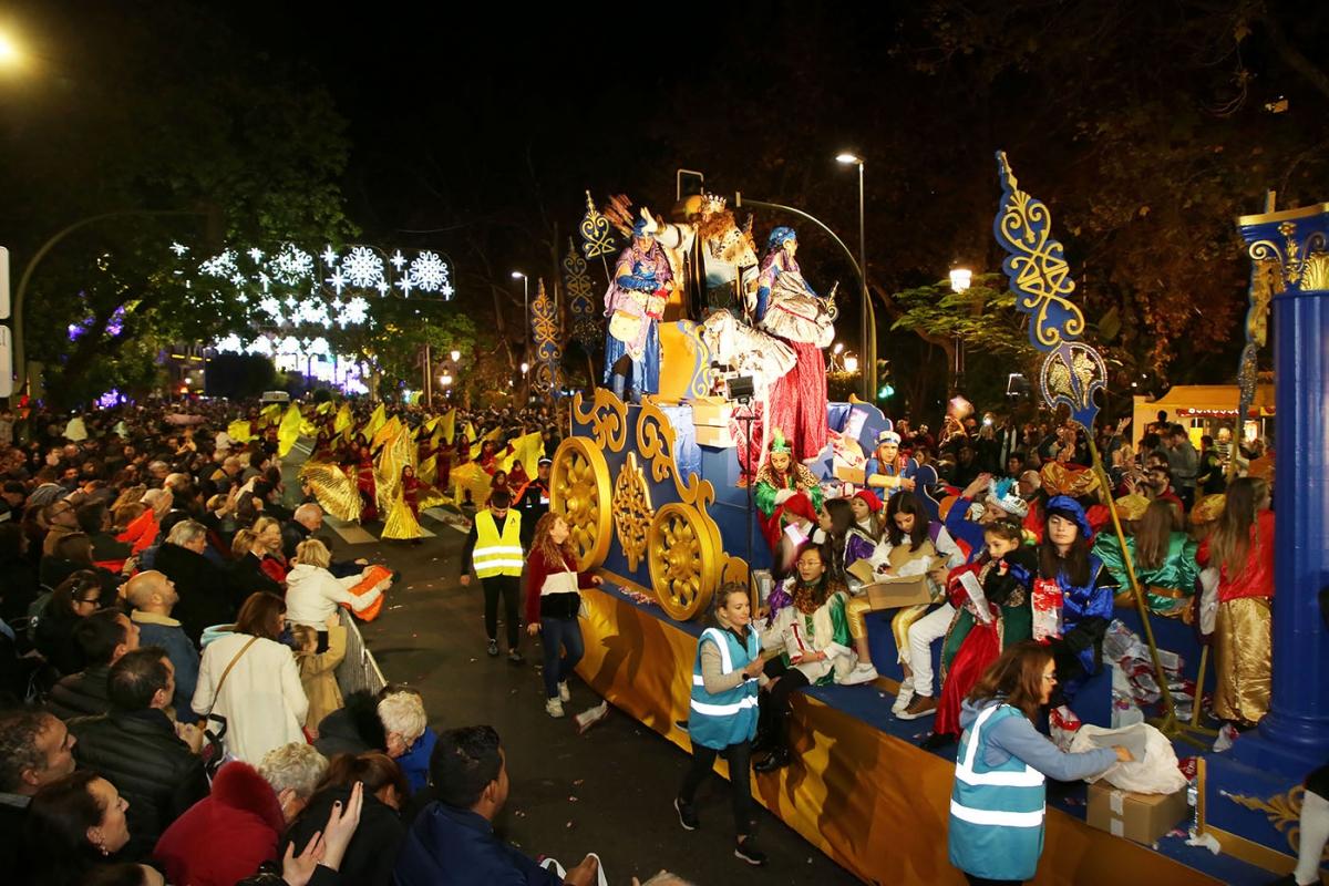 Los Reyes Magos ponen el broche final a la Navidad en Marbella