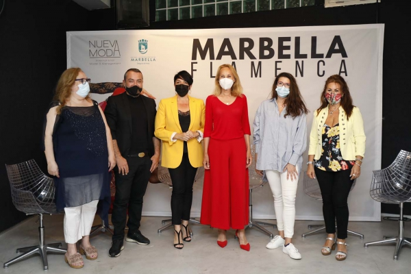 El parque Pecho de Las Cuevas acogerá el 4 y 5 de junio la pasarela de moda andaluza Marbella Flamenca para apoyar a los diseñadores y establecimientos locales