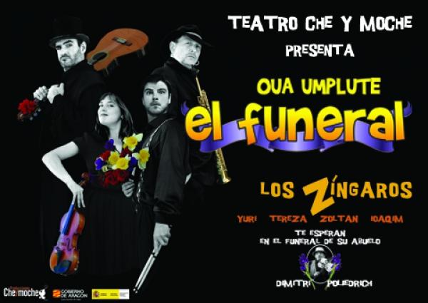 El Centro de Artes Escénicas La Alcoholera albergará este viernes la obra de teatro 'El funeral'