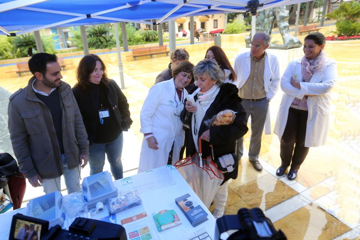 Marbella se suma al Día Mundial de la Enfermedad Pulmonar Obstructiva Crónica con una campaña de prevención y tratamiento de la dolencia