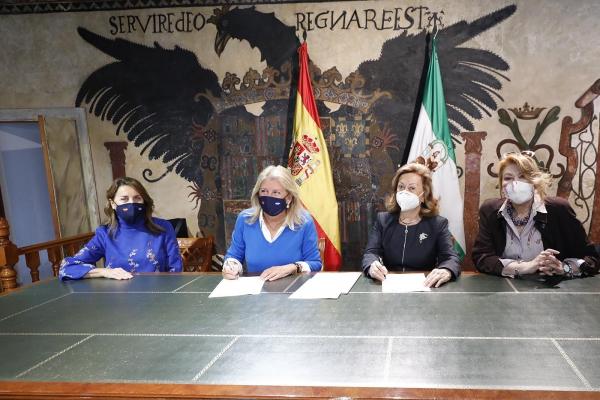 El Ayuntamiento renueva su apoyo a Cáritas y la Fundación Bastiano Bergese con sendos convenios para garantizar el mantenimiento de sus programas