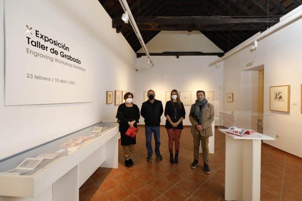 El MGEC expone una selección de obras realizadas por una treintena de alumnos de los talleres del grabado