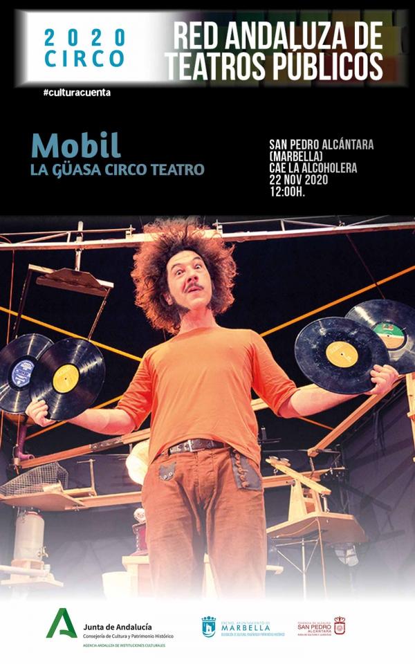 La compañía La Güasa ofrecerá este domingo a las 12.00 horas la obra de teatro infantil 'Mobil' en La Alcoholera
