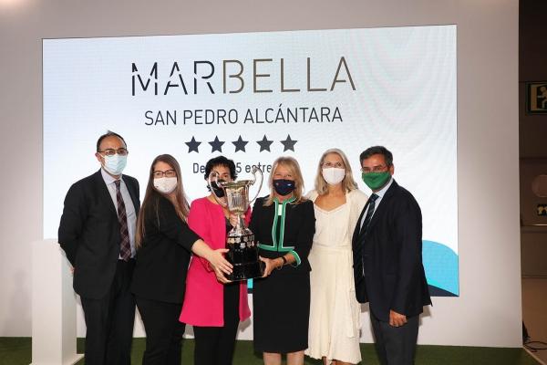 La alcaldesa destaca la solidez de Marbella como destino líder y seguro en el arranque de FITUR