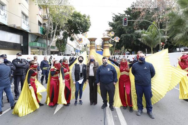 Las cabalgatas estáticas de los Reyes Magos llevan la magia a Marbella y San Pedro Alcántara