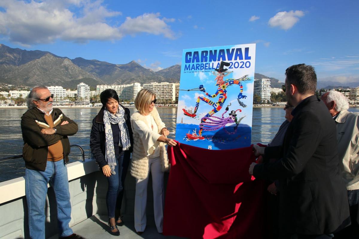 El artista local Fran Terrén será el pregonero del Carnaval de Marbella 2020