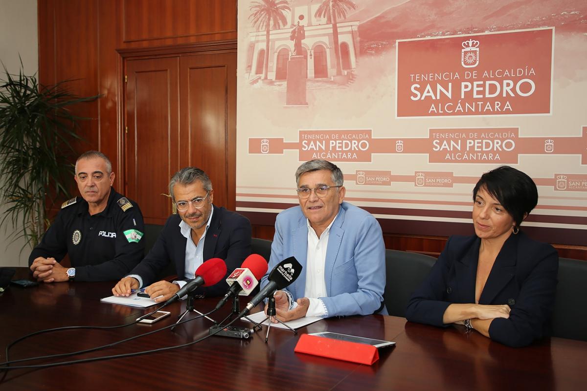 """El teniente de alcalde de San Pedro destaca el """"éxito"""" de participación y la """"seguridad y tranquilidad"""" en el balance de la feria"""