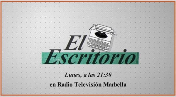 Cultura emitirá desde el próximo lunes 19 de octubre en Radio Televisión Marbella un ciclo de entrevistas del escritor Alejandro Pedregosa a distintas personalidades del mundo del arte y la literatura