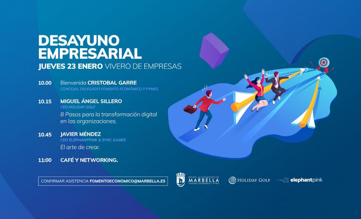 El Vivero de Empresas acogerá este jueves un encuentro con los CEO de Holiday Golf y Elephantpink & Sync Games