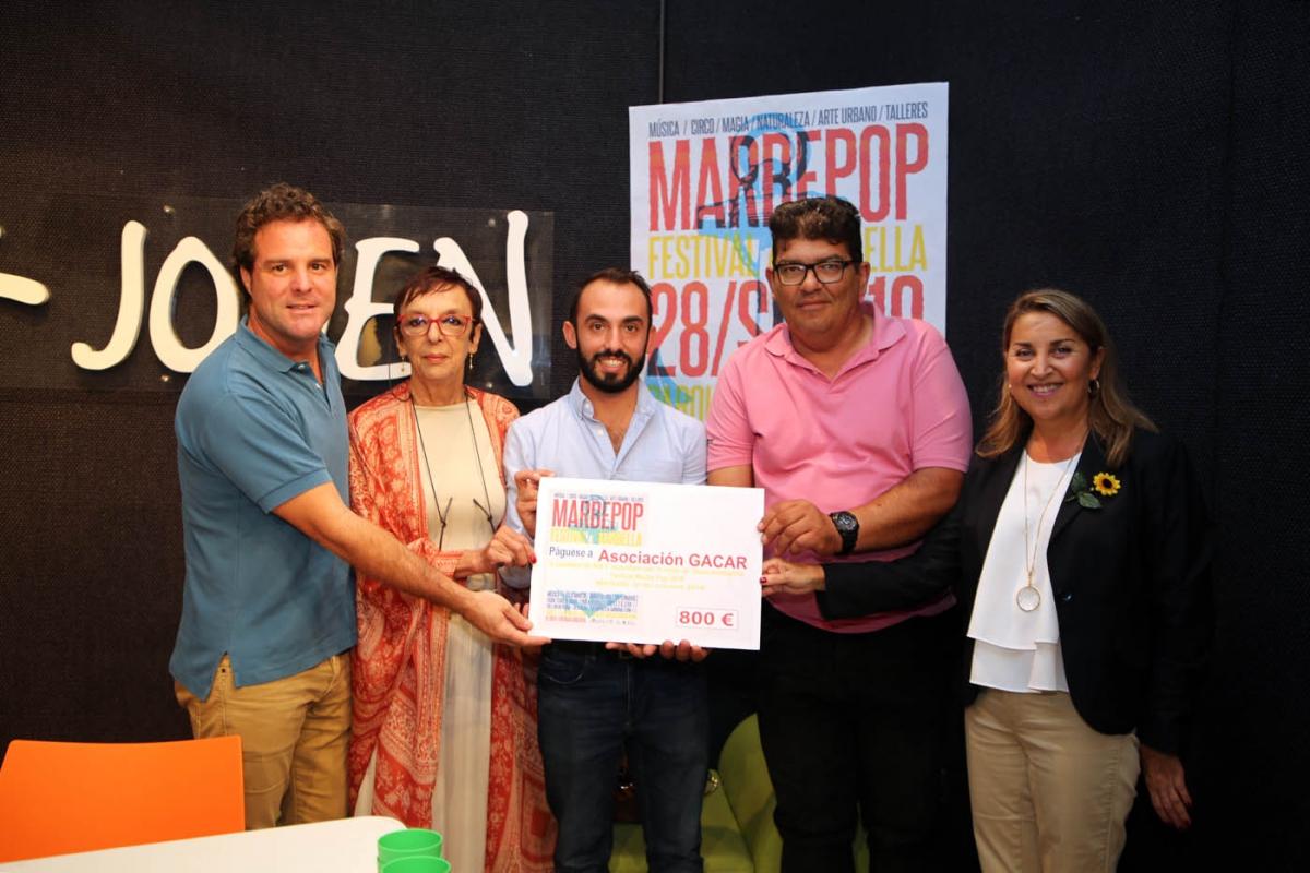 Marbepop ha celebrado este año su edición más eco-social, una cita que ha congregado en el Arroyo de la Represa a 2.000 asistentes y 15 grupos