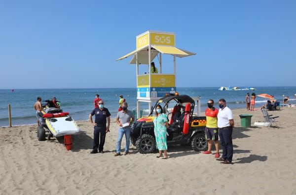 El dispositivo de seguridad de las playas interviene en lo que va de verano en más de 30.000 incidencias