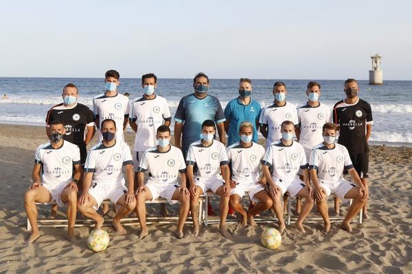 El C.D. Fútbol Playa Marbella, nuevo patrocinado dentro del programa Marca Marbella
