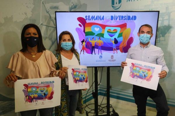 La ciudad conmemorará el Día Internacional del Orgullo LGTBI con actividades concienciadoras y lúdicas dentro de la 'Semana de la Diversidad', que se celebrará del 21 al 28 de junio