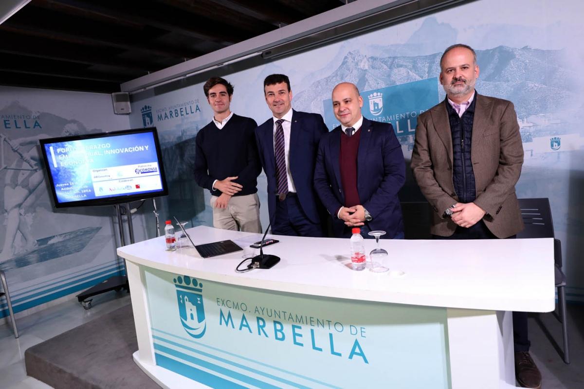 Marbella acogerá el próximo 16 de enero el I Foro de Liderazgo Empresarial, Innovación y Economía