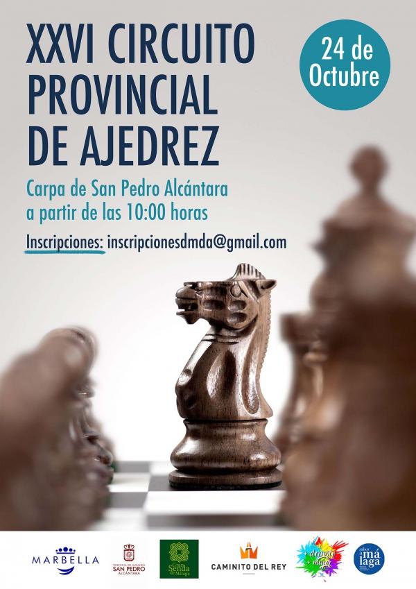 La Carpa de San Pedro Alcántara será la sede de la nueva edición del Torneo de Ajedrez de la Diputación de Málaga