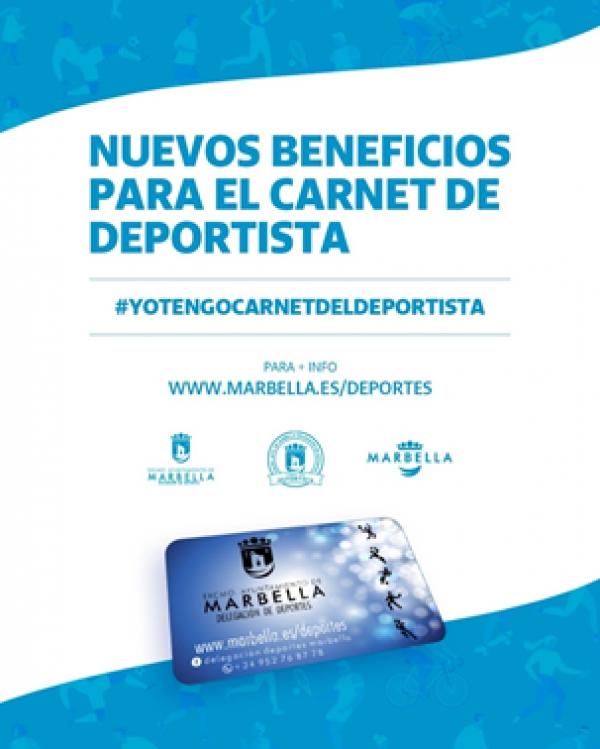 El Ayuntamiento acuerda con distintos establecimientos la obtención de beneficios a los usuarios que posean el Carnet del Deportista