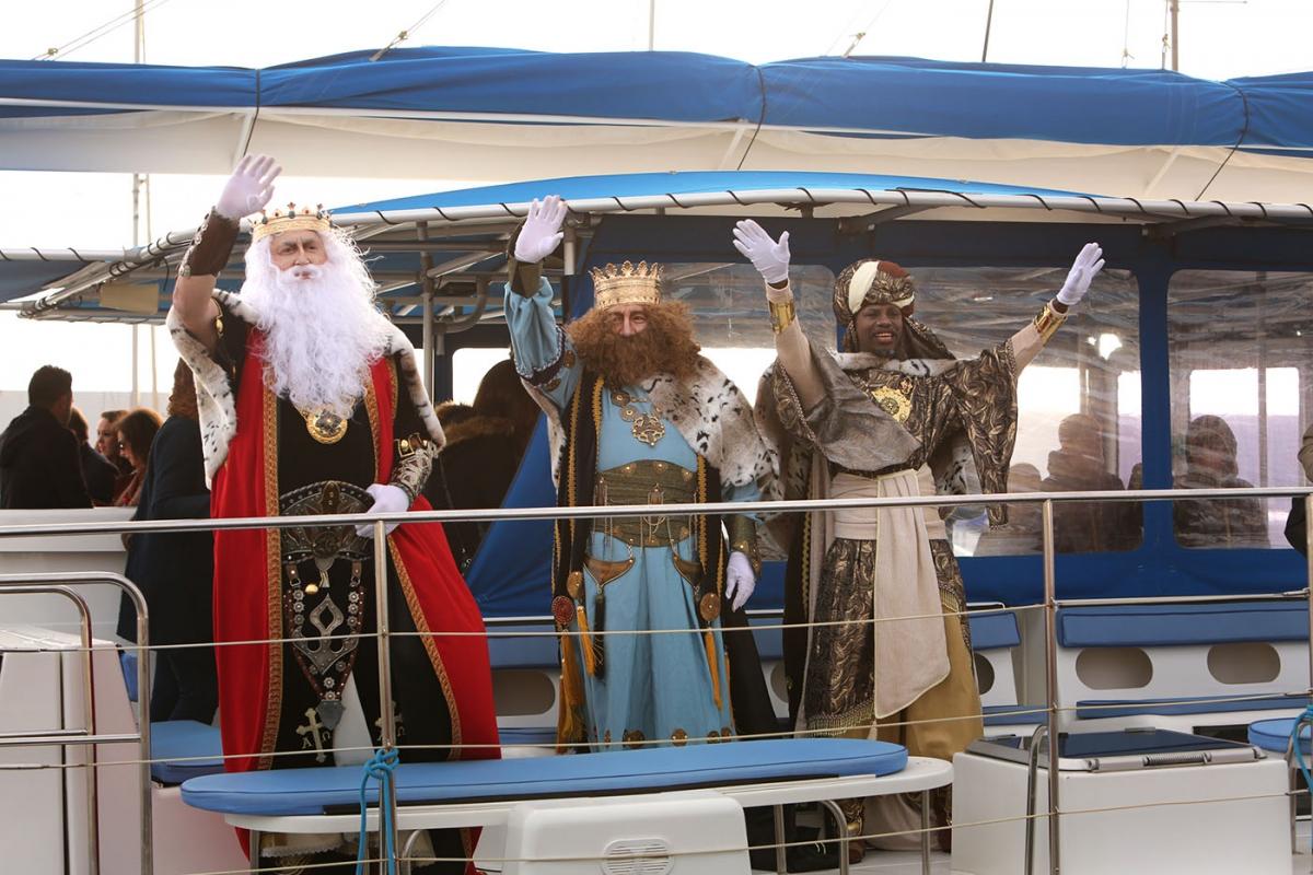 Los Reyes Magos llegan a Marbella