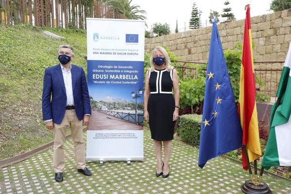 Marbella consigue en un año de tramitación la validación de todos los proyectos de su estrategia EDUSI para inversiones en la ciudad por valor de 18 millones de euros