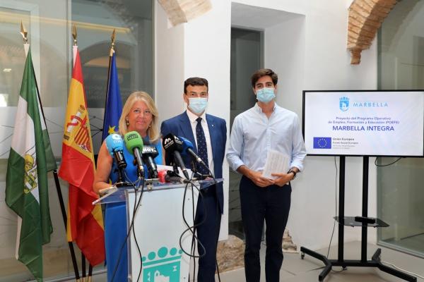 El Ayuntamiento pone en marcha el Programa Marbella Integra, que formará de manera gratuita y remunerada a 1.350 desempleados del municipio en los sectores que más demandan las empresas