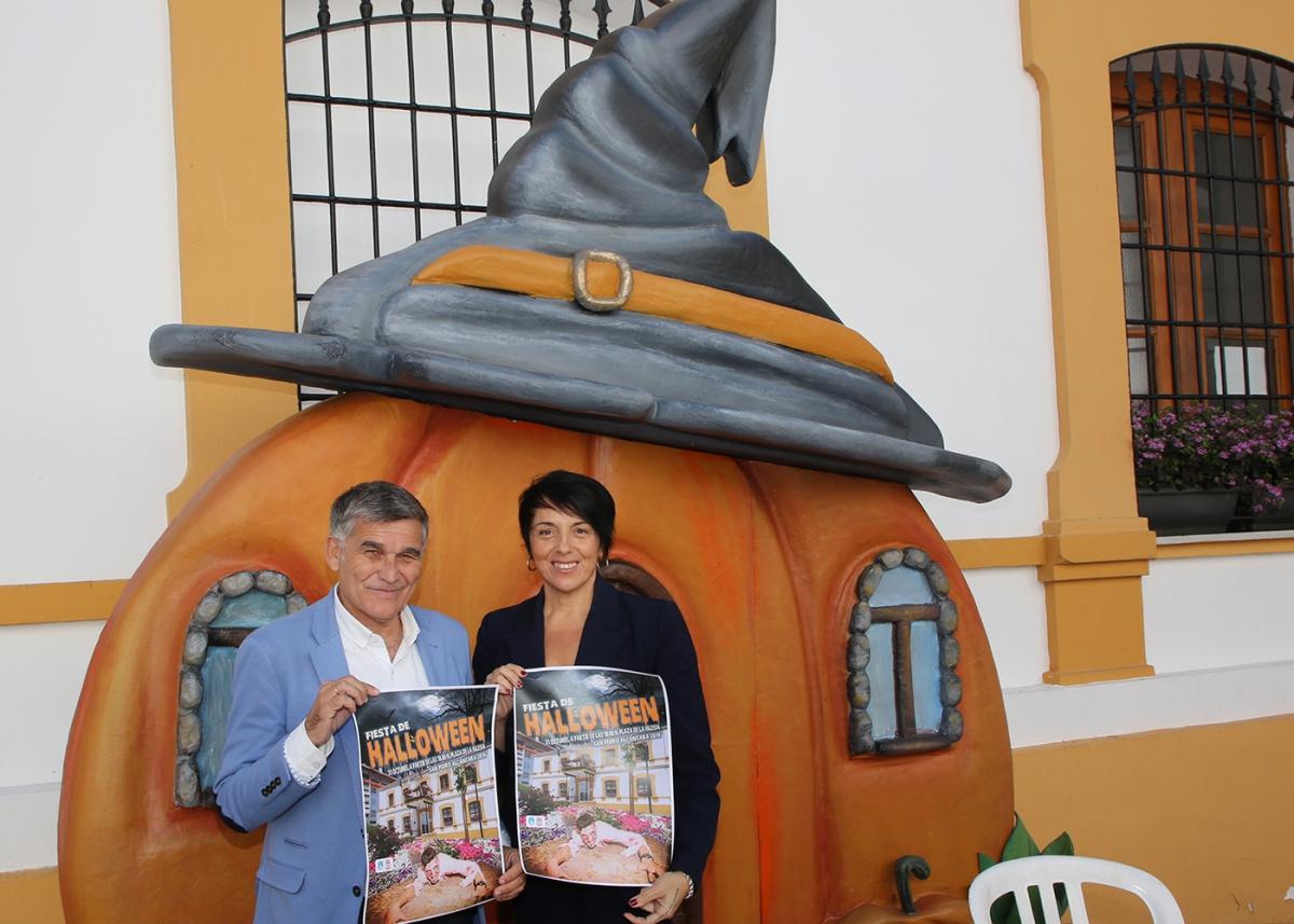 San Pedro Alcántara celebrará la fiesta de Halloween con actuaciones, talleres, un pasaje del terror y una zona infantil