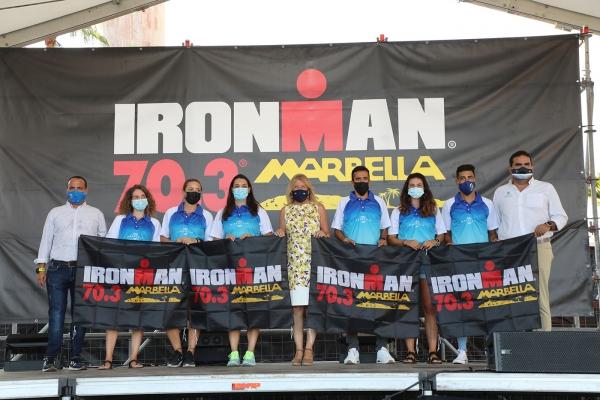 Dos equipos del programa 'Marca Marbella' y 'Marca San Pedro' participarán el próximo domingo en el Ironman 70.3