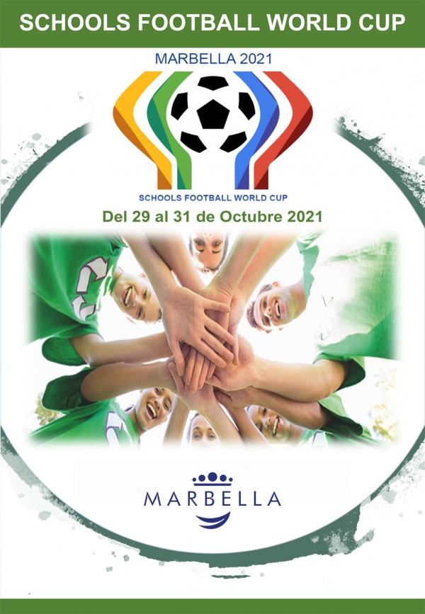 El Polideportivo Santa María de Las Chapas acoge del 29 al 31 de octubre el Campeonato Mundial de Fútbol de Colegios