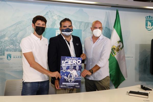 El Ayuntamiento apoya la nueva campaña de abonos del Marbella FC, bajo el lema 'Este año empezamos de cero' y con la novedad de la renovación gratuita para los socios