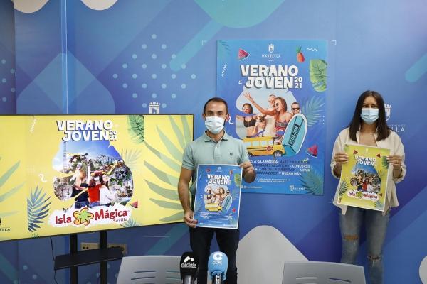 El Ayuntamiento organiza más de una treintena de actividades de ocio saludables y lúdicas dentro del programa 'Verano Joven' que se desarrollará en julio y agosto con una oferta superior a las 2.000 plazas