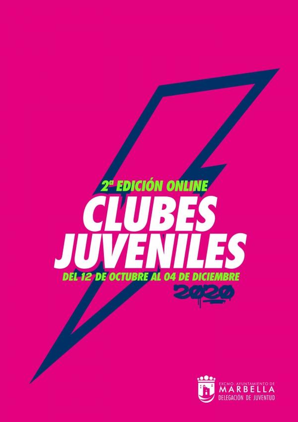 El Ayuntamiento amplía hasta el 9 de octubre el plazo de inscripción para la segunda edición online de los Clubes Juveniles, que comenzarán el día 12