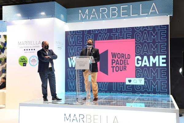 Marbella hace gala de su extensa oferta complementaria de eventos deportivos, gastronomía y ocio en la segunda jornada de FITUR