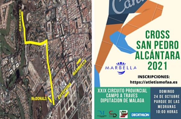 La XXVIII edición del Cross San Pedro Alcántara tendrá lugar este domingo y contará con 14 categorías
