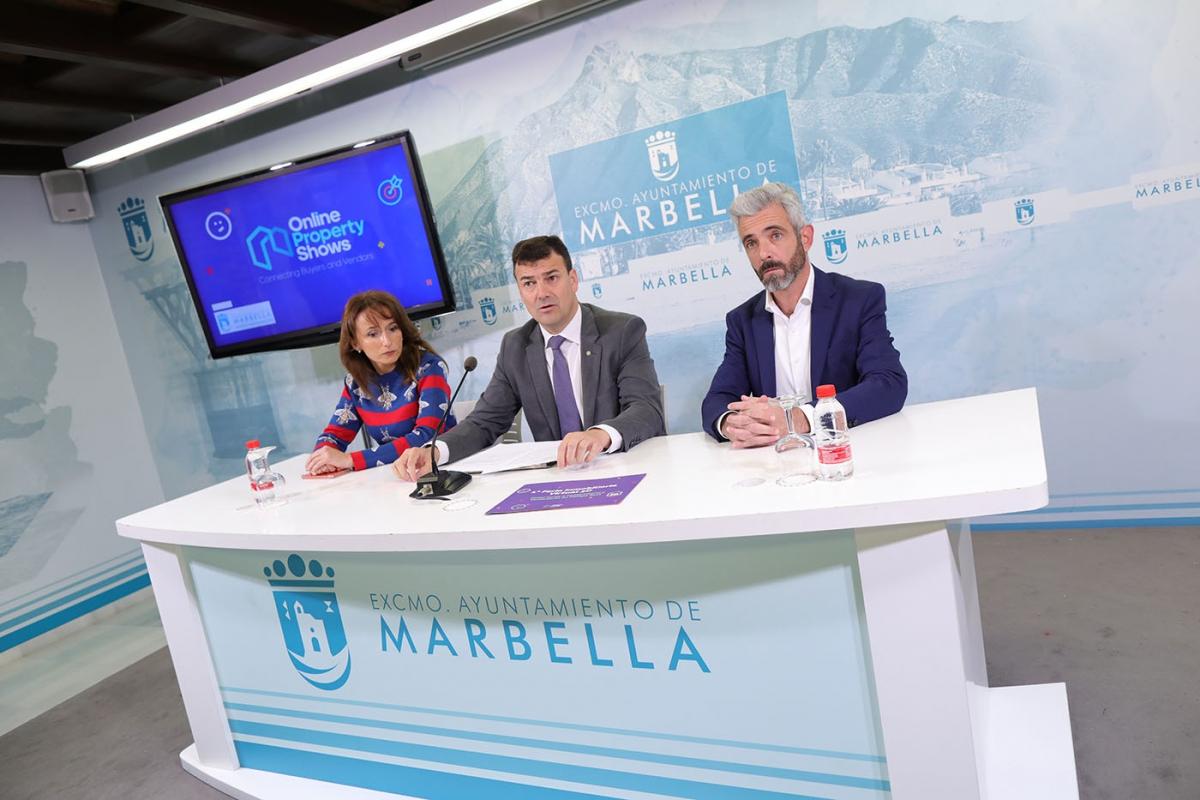 El Ayuntamiento respalda la primera Feria Inmobiliaria Virtual 3D de España, en la que podrán participar todos los profesionales vinculados al sector en la Costa del Sol