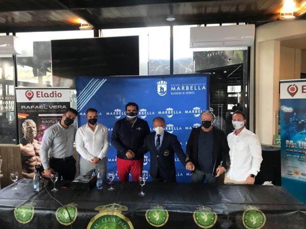 Marbella reunirá a profesionales y amateurs del fisioculturismo en la celebración el próximo otoño del campeonato mundial 'Mister Universe Pro' y del 'Rafael Vera Classic Qualifier'
