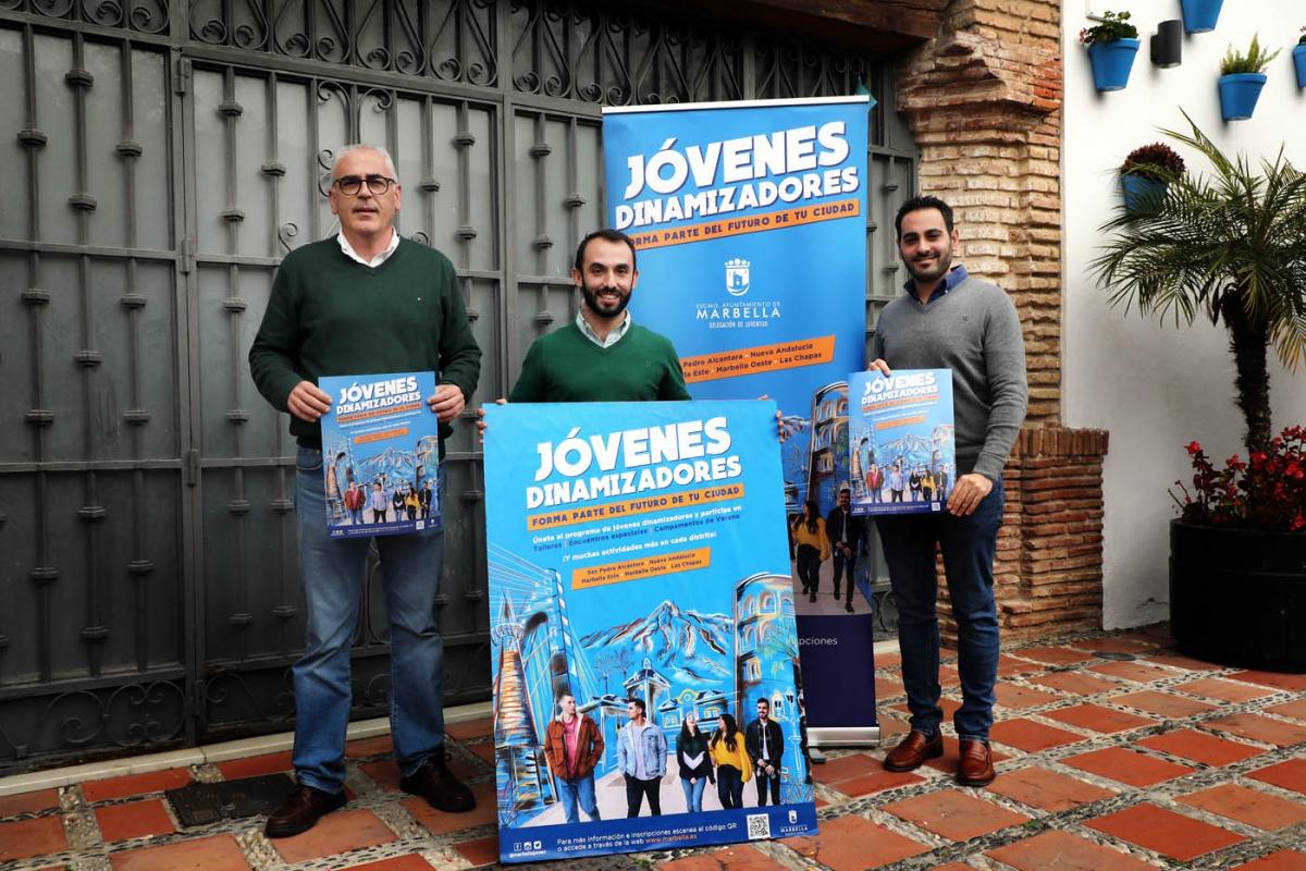 """El Ayuntamiento pone en marcha un programa de jóvenes dinamizadores para """"canalizar las inquietudes del colectivo y potenciar su participación directa en el municipio"""""""