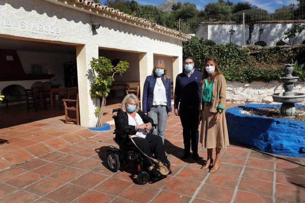 El Ayuntamiento y la Junta de Andalucía trabajan conjuntamente para convertir Hacienda de Toros en un centro pionero y de referencia en la atención integral a personas con patologías de salud mental